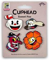 Cuphead Collectibles| Exclusive Cuphead Enamel Pin Set 4 Pack
