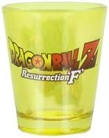 Dragon Ball Z Resurrection F Super Saiyan Goku 1.5oz Yellow Shot Glass