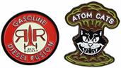 Fallout Atom Cats and Red Rocket Enamel Pin 2-Pack (SDCC'18 Exclusive)