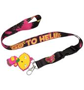 Family Guy Stewie Go To Hell Lanyard