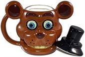 Five Nights At Freddy's Freddy Fazbear 20oz Molded Mug