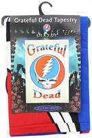 "Grateful Dead Steal Your Face Logo White 60""x90"" Tapestry"