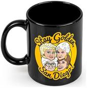 The Golden Girls Stay Golden San Diego Ceramic Mug | 11 Ounces| Golden Girls Mug