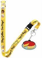 "Golden Girls ""Stay Golden, San Diego!"" Lanyard w/ Charm (SDCC Exclusive)"