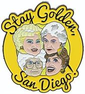 "Golden Girls ""Stay Golden, San Diego!"" Enamel Pin (SDCC Exclusive)"