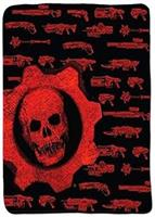 Gears of War Crimson Omen Guns Lightweight Fleece Throw Blanket | 50 x 60 Inches