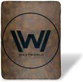 Westworld Logo 45 x 60 Inch Throw Stadium Blanket