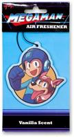 Mega Man and Rush Air Freshener | Vanilla Scented | Mega Man Legacy Collection