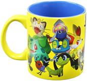 Pokemon Group Foil Print 20oz Coffee Mug