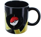 Pokemon Pikachu and Pokeball Spinner 16.9oz Ceramic Mug