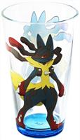 Pokemon Mega Lucario 16oz Pint Glass