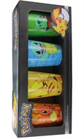 Pokemon Character Pack Pint Glasses, 4-Pack