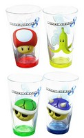 Super Mario Brother Party Tableware and Solid Color Plates, Cups, Forks and Spoons