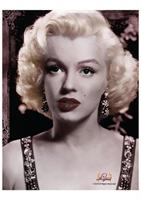"Marilyn Monroe Portrait 45""x60"" Fleece Throw Blanket"