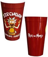 Rick and Morty Szechuan Dipping Sauce Plastic Cup