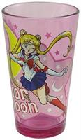Sailor Moon Moon Princess Halation 16oz Pink Pint Glass