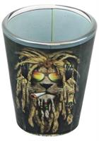 Reggae Lion 2oz Shot Glass