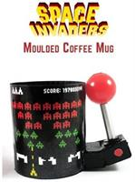Space Invaders 3D Arcade Molded 16oz Coffee Mug