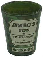 South Park Jimbo's Guns 1.5oz Camo Shot Glass