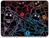 "Teenage Mutant Ninja Turtles Neon Fleece 45""x60"" Fleece Throw Blanket"