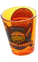 Teenage Mutant Ninja Turtles Orange Michelangelo Shot Glass