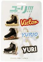 Yuri On Ice Button 6-Pack