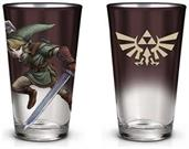 The Legend Zelda Brown Pint Glass
