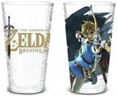 Legend of Zelda Breath of the Wild 16oz Pint Glass Set