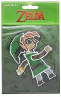 The Legend of Zelda Link Painting 4-Inch Auto Magnet