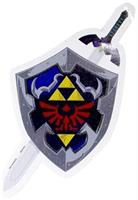The Legend of Zelda Hylian Shileld & Sword Auto Decal