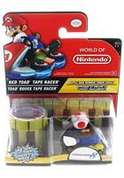 World of Nintendo Tape Racer Action Figure: Toad (Red)