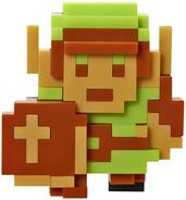 "Legend Of Zelda Series 5 Nintendo 2.5"" Mini Figure 8 Bit Link"