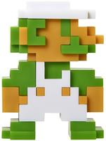 "Super Mario Bros. Series 5 Nintendo 2.5"" Mini Figure 8 Bit Luigi"