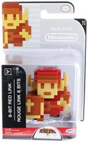 "Legend Of Zelda Series 6 Nintendo 2.5"" Mini Figure 8 Bit Link (Red)"