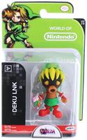 "Legend Of Zelda Series 6 Nintendo 2.5"" Mini Figure Deku"