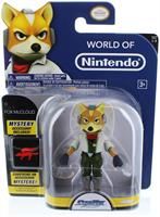 "Star Fox 4"" Figures Series 3 Starfox w/ Arwing"