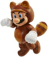 "Super Mario Bros 4"" Figures Wave 4 Tanooki Mario w/ Coin"