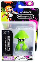 "World of Nintendo 2.5"" Mini Figure Green Squid"