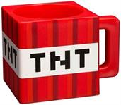 Minecraft TNT 9.8 Ounce Plastic Coffee Mug