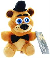 "Five Nights At Freddy's 6.5"" Plush: Freddy"
