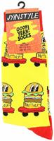 Oooh Yeah! Burgers on Wheels Men's Crew Socks