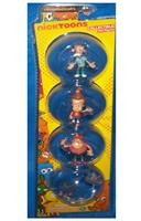 "Nicktoons T.U.F.F. Puppy 2"" Figure 4-Pack"