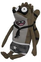 "Regular Show 14"" Plush with Sound: Wrestling Rigby"