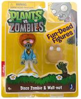 "Plants Vs Zombies 3"" Figure 2-Pack: Disco Zombie and Wall-nut"