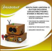 South Park AWESOM-O Glitter Exclusive Collectible Figure | Stands 3 Inches Tall