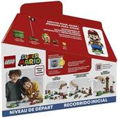 LEGO Super Mario Adventures with Mario Starter Course 71360 | 231 Piece Building Kit