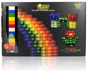 Light Stax LED Light-Up Building Blocks: 102-Piece Mega Set