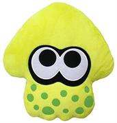 "Splatoon 2 14"" Plush Pillow: Squid, Neon Yellow"