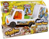 Uggly's Pet Shop Mini Figure Dirty Dog Wash Van