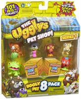 Ugglys Pet Shop Series 1 Mini Figures: 8-Pack
